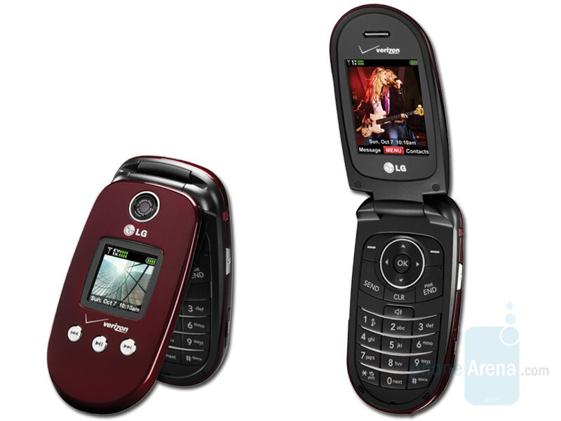 Verizon Wireless released LG VX8350 in a new Red color