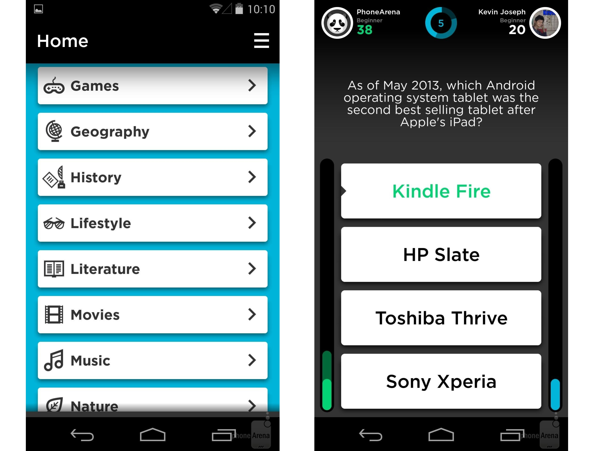 8 of the best quiz and trivia games for android 2014 edition quizup