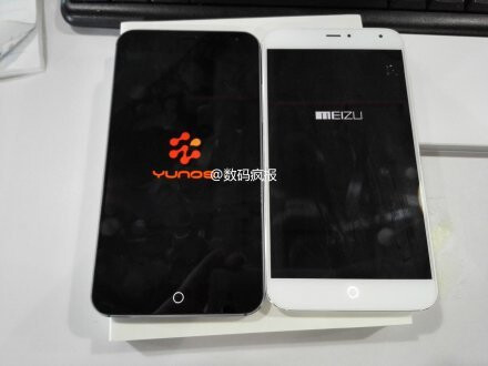 YunOS-powered Meizu MX4 Pro spotted in the wild