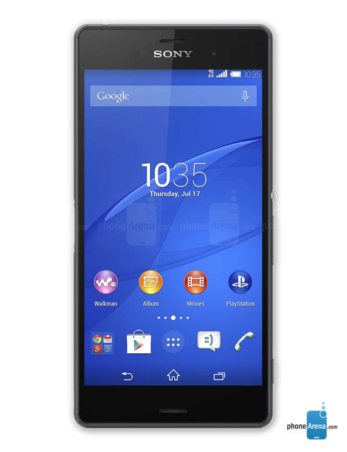 Xperia Z3 Cola and Nutella tests, Xperia Z3 pictures