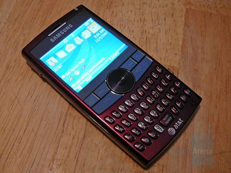 Hands-on with Samsung BlackJack II