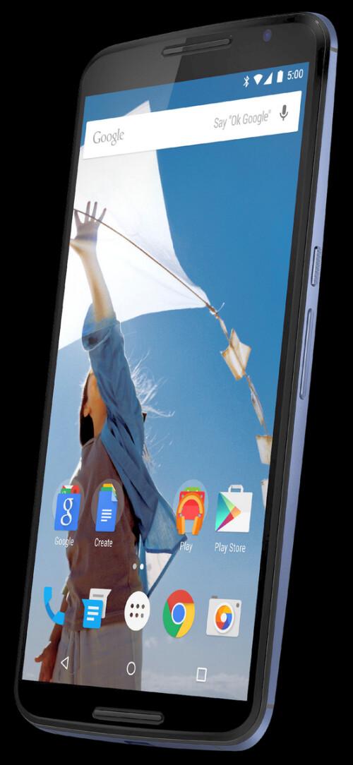 Leaked Nexus 6 render