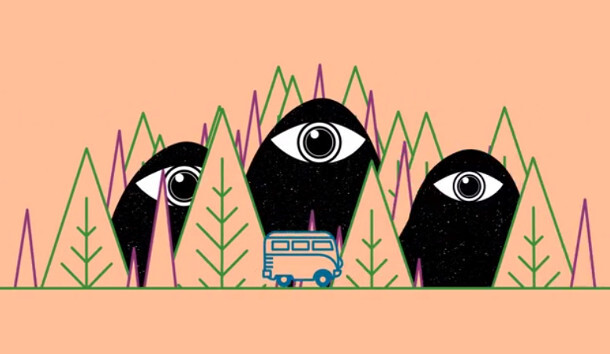 """The Trip for Android & iOS is a groovy, acid-laced """"endless bus driving runner"""""""