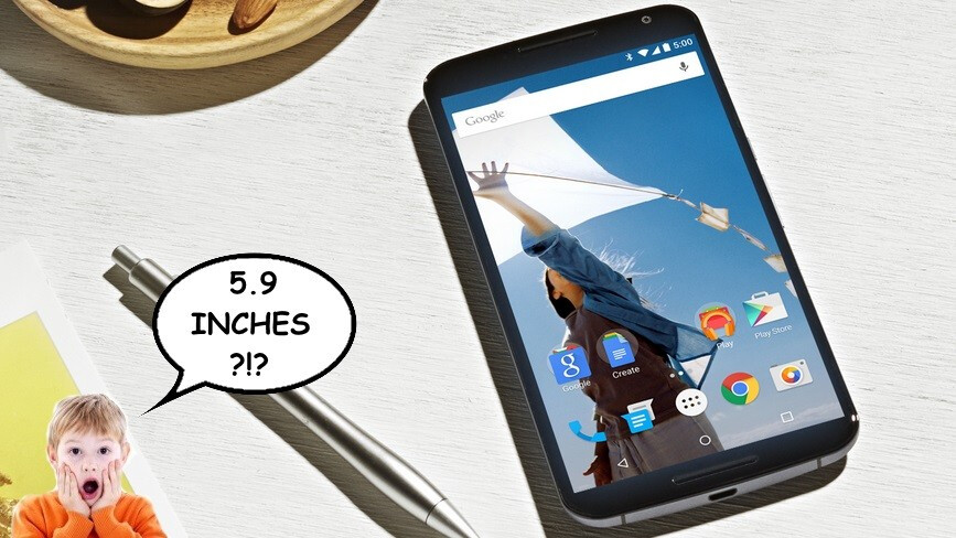 Poll: Is the Nexus 6's 5.9-inch display appropriate, or overkill?