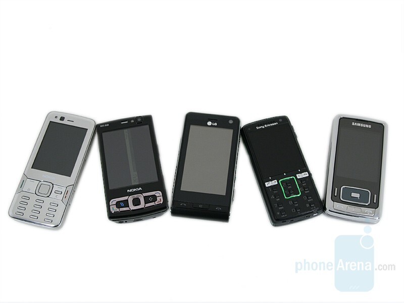 N82, N95 8GB, Viewty, K850 and G800 - Which is the best 5-megapixel cameraphone?