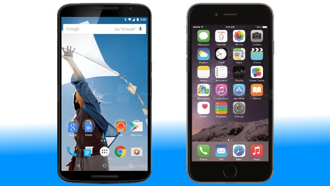 Google Nexus 6 vs iPhone 6 Plus: in-depth specs comparison