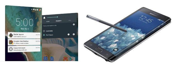 As far as user experience goes, it's a matter of choosing between the Nexus 6's clean Android 5.0 Lollipop, and the Note Edge's S Pen and Edge screen. - Nexus 6 vs Note Edge: Can Google's own phablet match Samsung's cutting-edge offering?