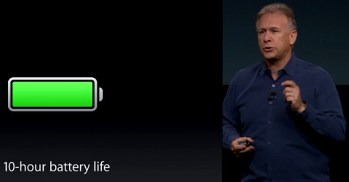 Apple iPad Air 2 to keep the typical 10-hour battery life, despite its record thin design