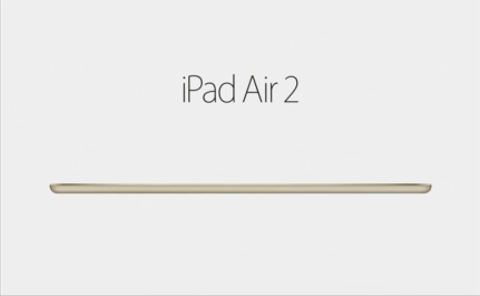 At the amazing 6.1 mm, the iPad Air 2 is the thinnest tablet on the planet