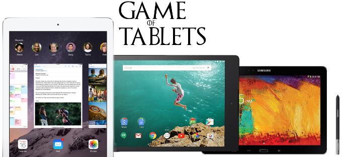 Apple iPad Air 2 vs Google Nexus 9 vs Samsung Galaxy Note 10.1 (2014 edition): specs comparison clash