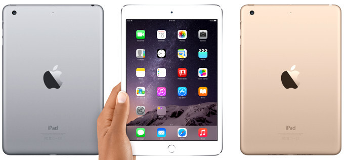 Apple unveils the iPad mini 3: golden boy with Touch ID
