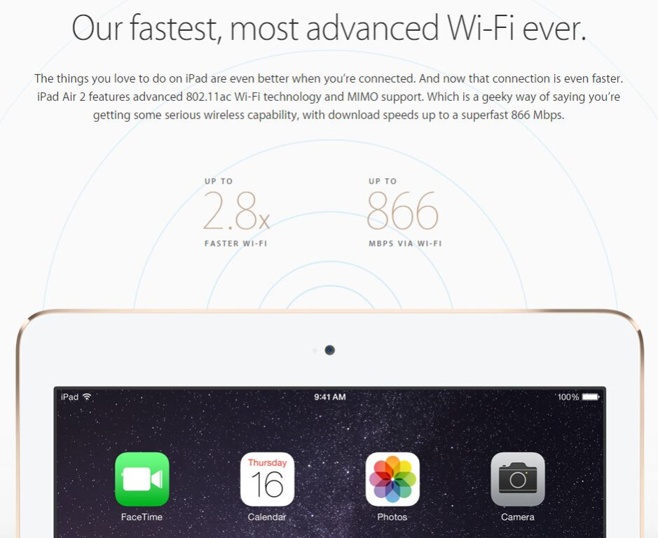 how to make wifi fasyer on ipads