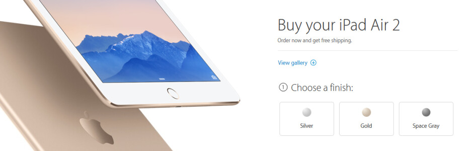 Preorder the new iPads now, directly from Apple - You can now pre-order the Apple iPad Air 2 and Apple iPad Mini 3 online from the Apple Store