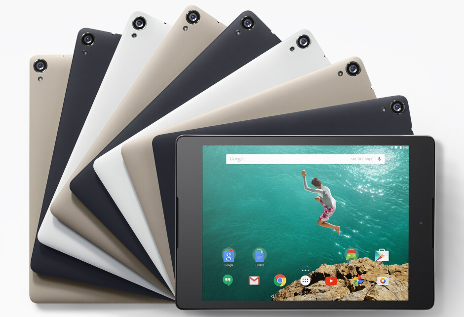 Google Nexus 9 now available to pre-order in Play Store and from HTC