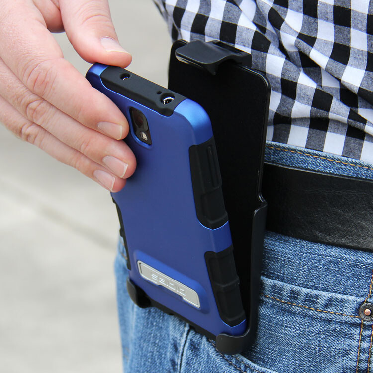 The Seidio case-holster combos tend to cost a little more, but they are a great design - Bending phones, pocket explosions, butt-dialing: it's time for the old belt-holster to make a comeback