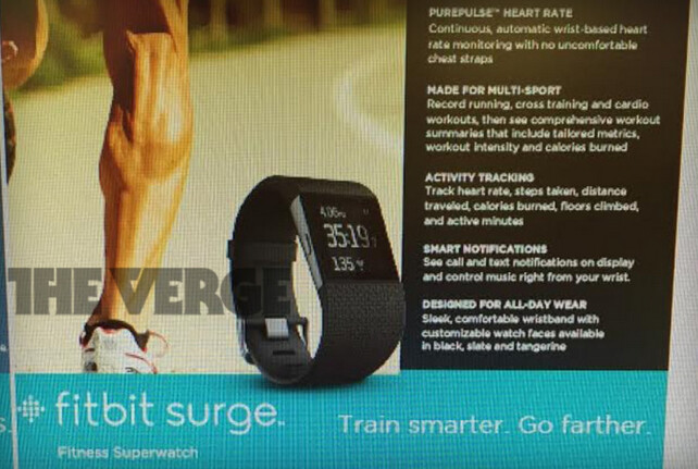 Leak shows off new Fitbit smartwatch - Fitbit Surge is a $249 smartwatch coming from the fitness band producer