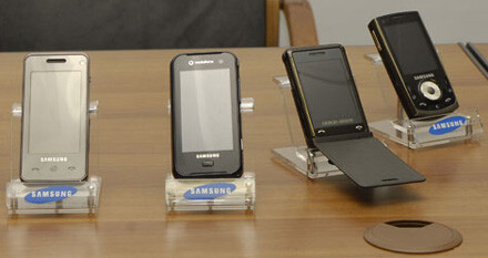 F490, F700, P720 and i560 - Samsung preparing two new touch-screen phones