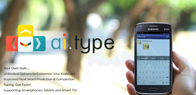 ai.type is a predicative keyboard app fit for the iOS 8 era
