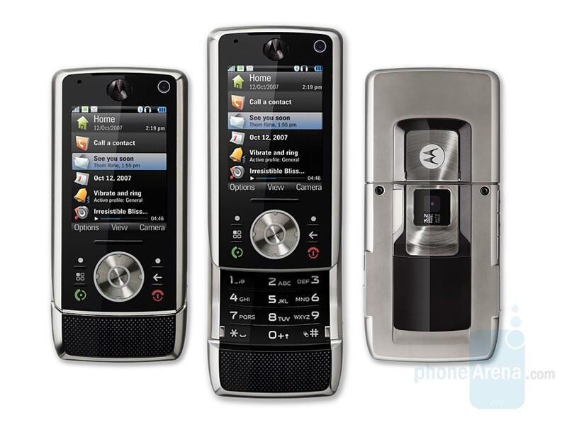 Motorola reveals two new phones at CES 2008