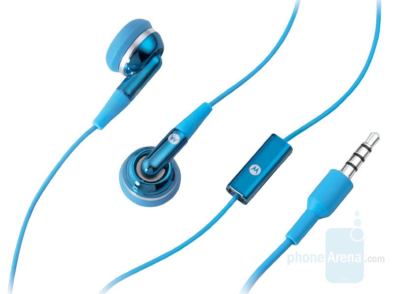Motorola EH25 in Blue, Pink and Red - Motorola announced a slew of music accessories