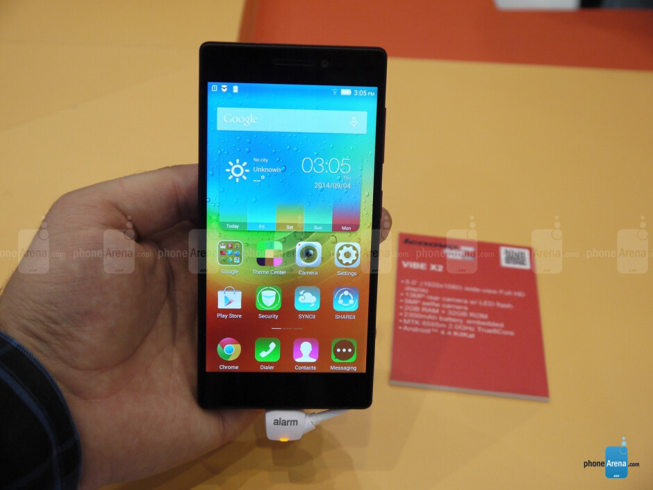 Monsters from Asia: Lenovo's stylish Vibe X2 with its multi-layered, 7.3mm metal body