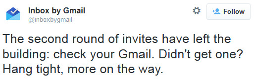 More invitations are going out for Inbox - Google sends out another round of invitations for Inbox app