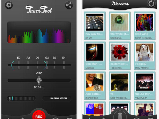 5 ios apps for tuning your guitar with an iphone or ipad phonearena. Black Bedroom Furniture Sets. Home Design Ideas