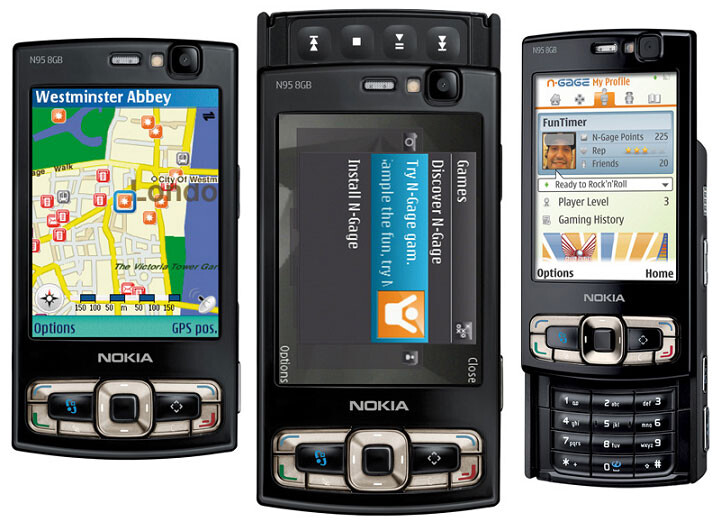 Nokia N95 tops UK phone sales chart - Esato