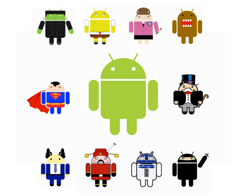 The story of the Android robot logo