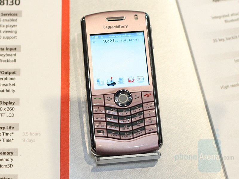 Pink Pearl for Verizon - CES 2008: Live Report