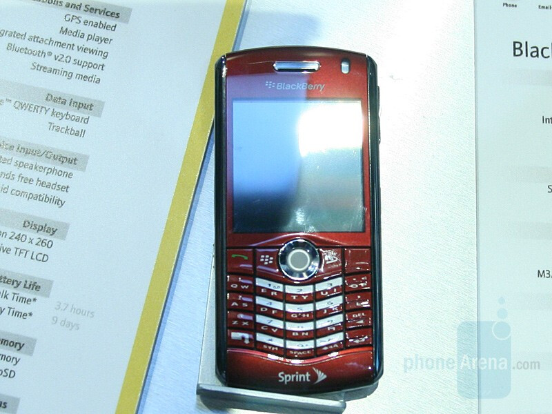 Red Pearl for Sprint - CES 2008: Live Report