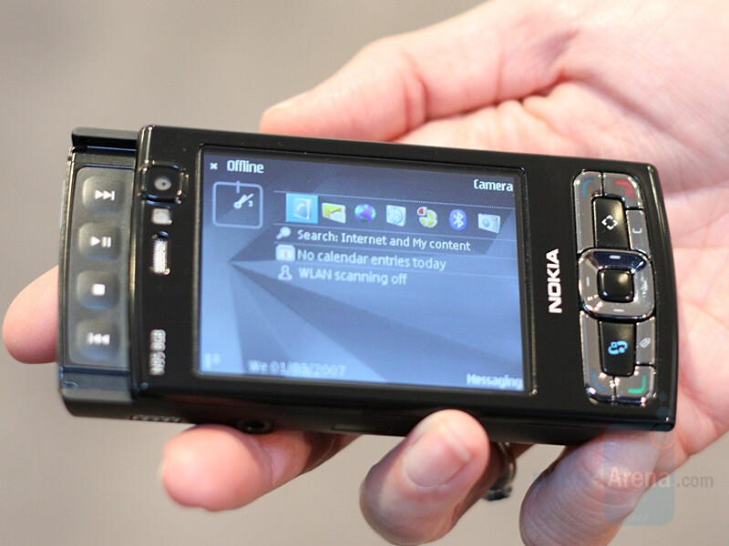 N95 8GB US - CES 2008: Live Report