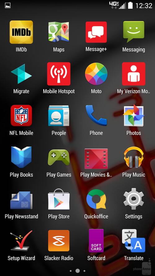 Motorola DROID Turbo screenshots