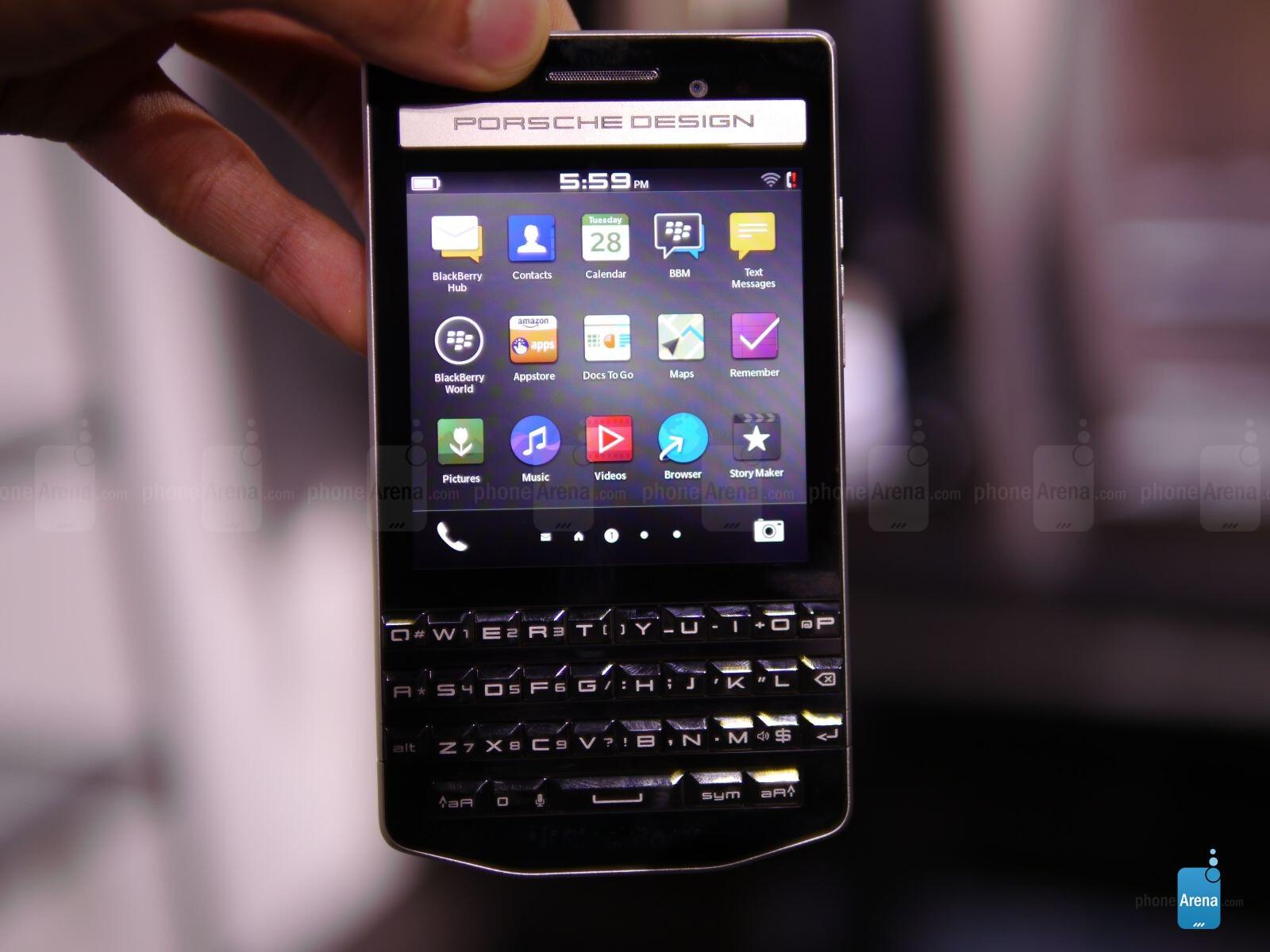 P Design: BlackBerry Porsche Design P'9983 Hands-on