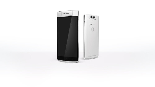 Oppo announces the N3 - motorized swivel camera, multi-purpose fingerprint sensor, and lightning-fast charging