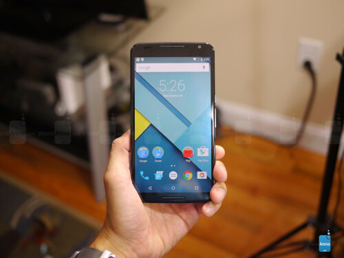 Google Nexus 6 unboxing