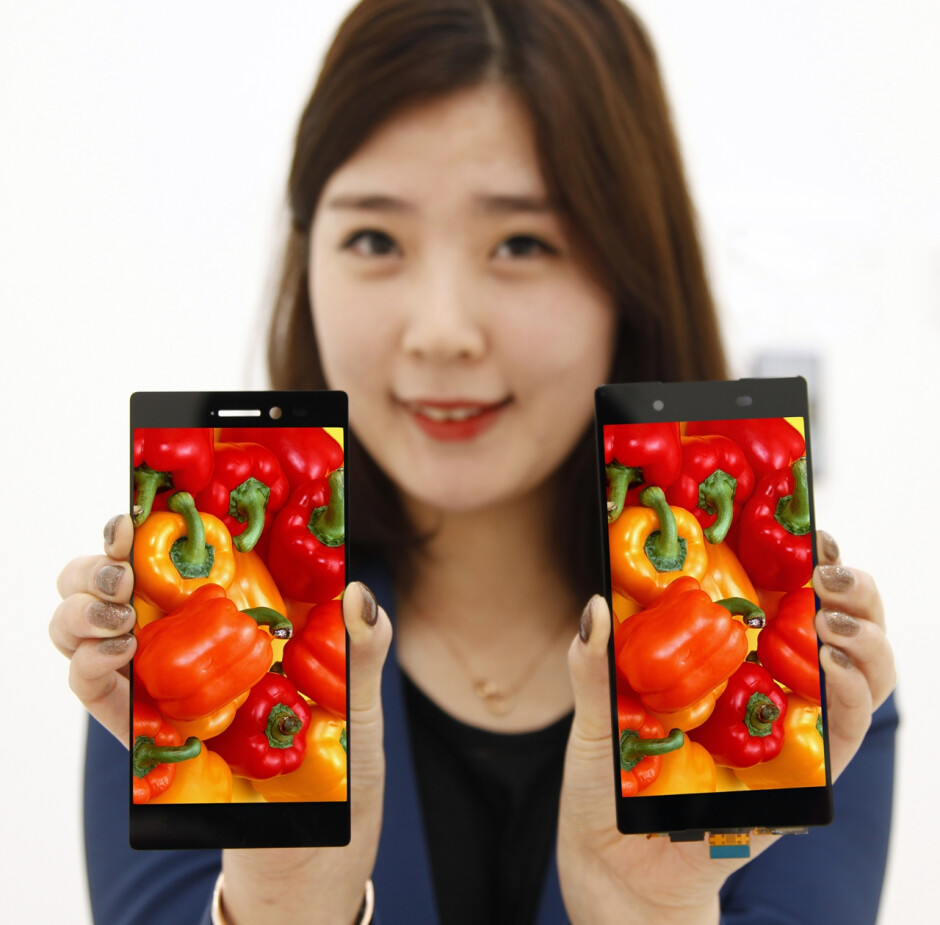 """LG outs a durable 5.3"""" display with the world's narrowest bezel"""