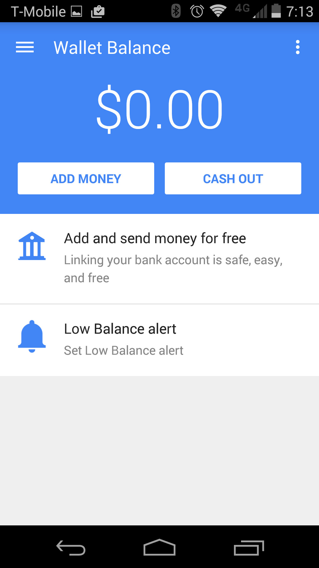 Google wallet gets material design update and automatic money
