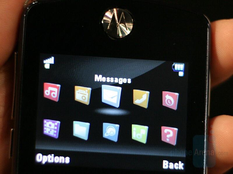 ROKR E8 interface - CES 2008: Live Report