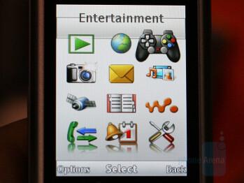 W760 interface