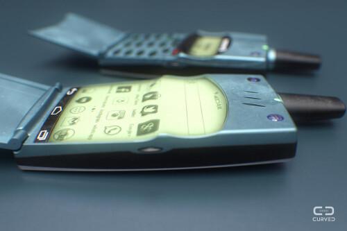 Designer reimagines iconic Nokia and Ericsson phones, upgrades them with Android and Windows Phone UIs