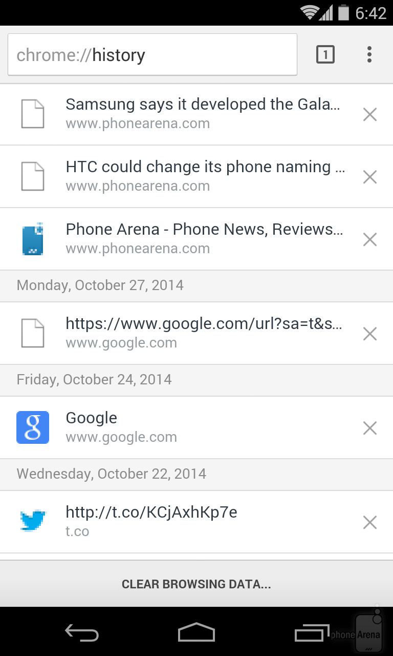 You Can Also Get Here By Typing Chrome History In The Address Bar In Any  Open