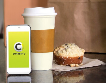 Mmmm...coffee and a muffin.  What CurrentC doesn't tell you is that the beverage is cold, and the muffin stale by the time you are done paying