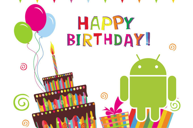 Happy 7th birthday, Android! Check out some glorious milestones of the mobile OS in this succinct infographic