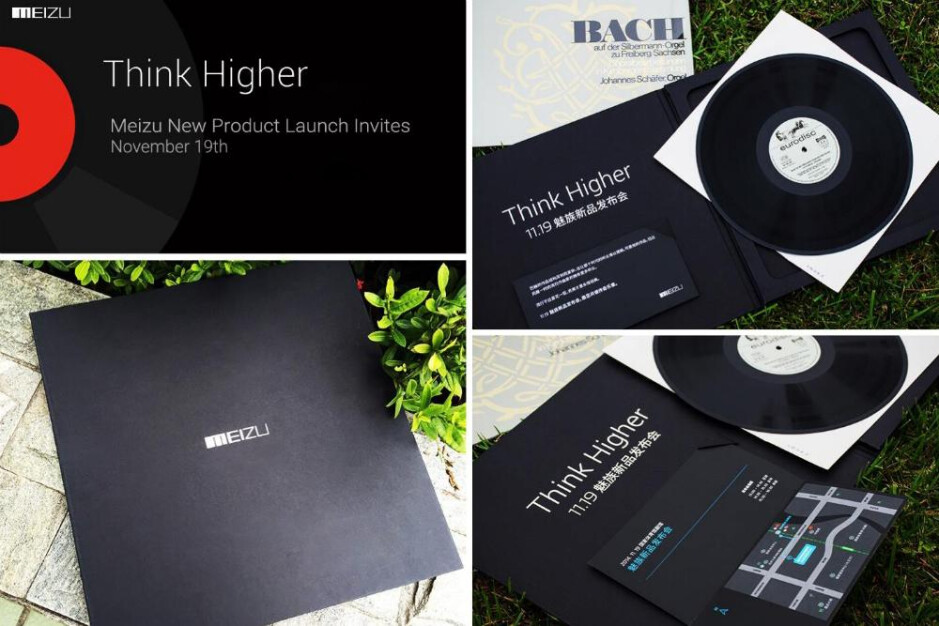 Meizu just sent out the coolest invites for its November 19 event