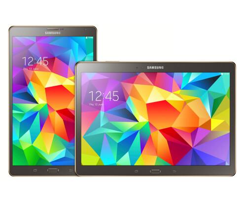 Samsung Galaxy Tab S 8.4 and Galaxy Tab S 10.5