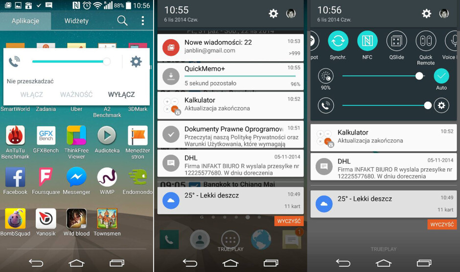 LG already hard at work on the Android 5.0 Lollipop update for the G3, leaked screenshots suggest