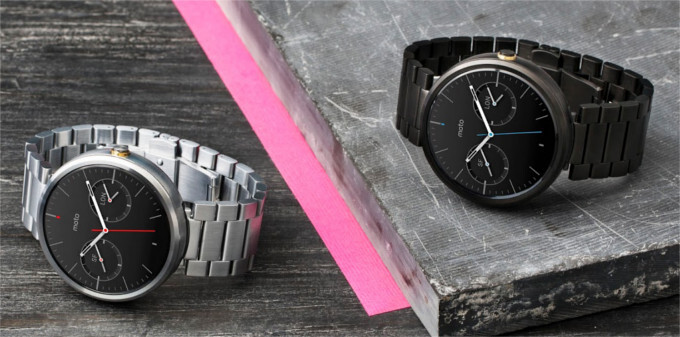 Moto 360 with metal and gold straps officially up for sale on Motorola's site