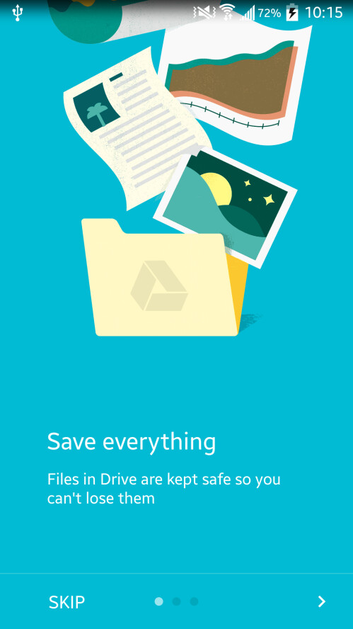 Google Drive now more material than ever