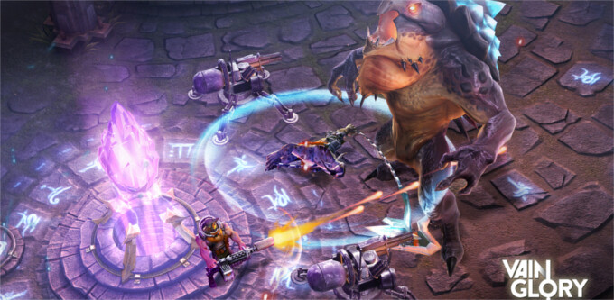 Vainglory – the game from iPhone 6's presentation – to finally be available this month. No scarf included